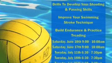 SJAC Water Polo Clinics